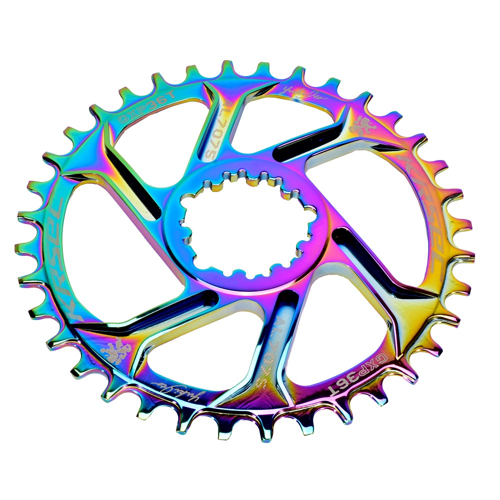 Mountain Bike GXP Chainwheel 32T/34T/36T/38T Crown Bicycle Chainring For Sram 11/12S NX XX XO GX GXP11 Single Disc Tray image