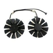 2 pçs/set FDC10U12S9-C Ventilador Cooler Para ASUS GeForce GTX 1070/1060 DUAL GPU Vídeo EX-GTX1070 EX-GTX1060 Placa Gráfica Arrefecimento