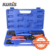Crimping tool combination tools box for photovoltaic and MC4 Spanners and Dies jacketed terminals Crimp wire cable plier suit