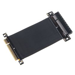 15 Cm Pci-E Pci Express 8X Om 8X Verlengkabel Met Vergulde Connector X6HB