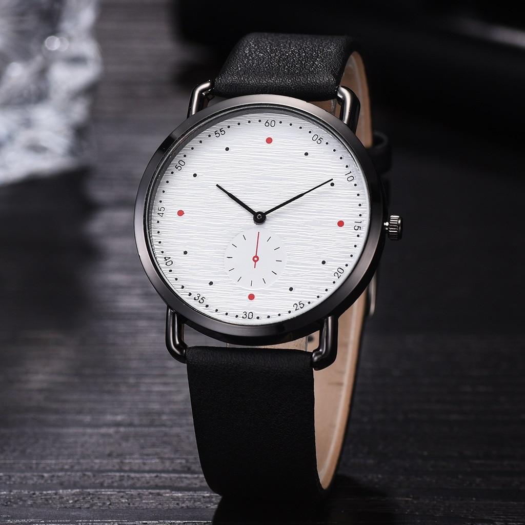 Minimalist Men's Watches Leather Band Simple Designer Fashion Watch Men Casual Male Watch Quartz Clock Relogio Masculino 2020