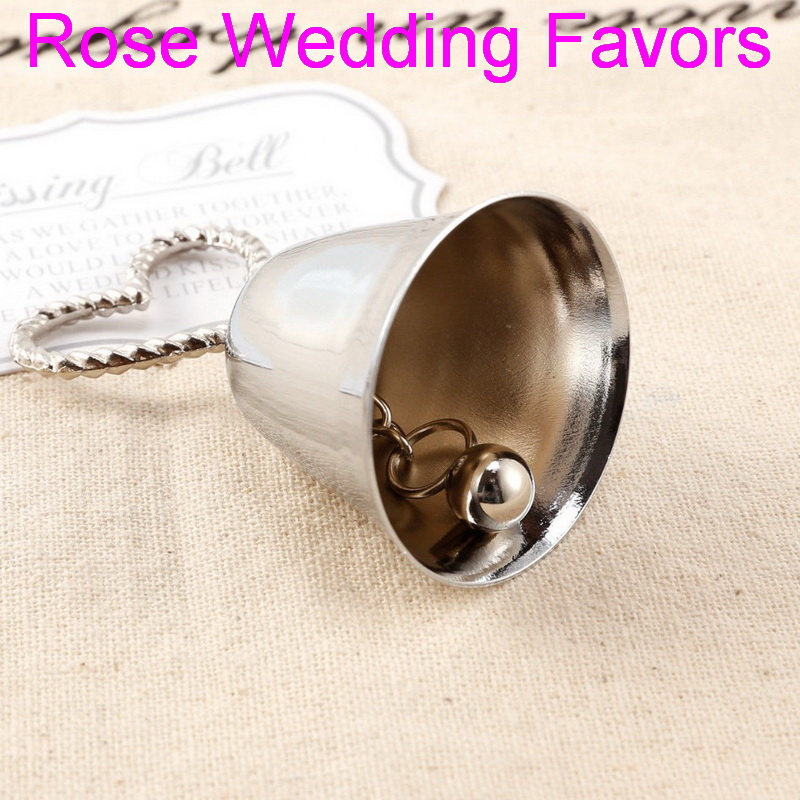 Image 2 - (50pcs/lot)FREE SHIPPING Christmas Party Favor Kissing Bell Place