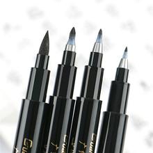 Quality New Calligraphy Pen Set Fine Liner Tip Medium Brush Pens for Signature Drawing Hand Lettering School Album Art Supplies cheap Single Art marker Loose