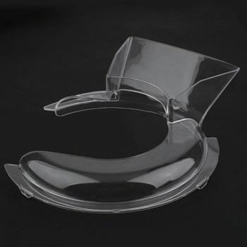 Wymienna osłona rozbryzgowa osłona rozbryzgowa do mikserów stojakowych KitchenAid 4 5 5QT KSM500PS KSM450 wytrzymała bezpieczna ochrona przed rozpryskami przydatne tanie i dobre opinie Zaopatrzony Ekologiczne Z tworzywa sztucznego Ce ue Splatter ekrany Pouring Shield
