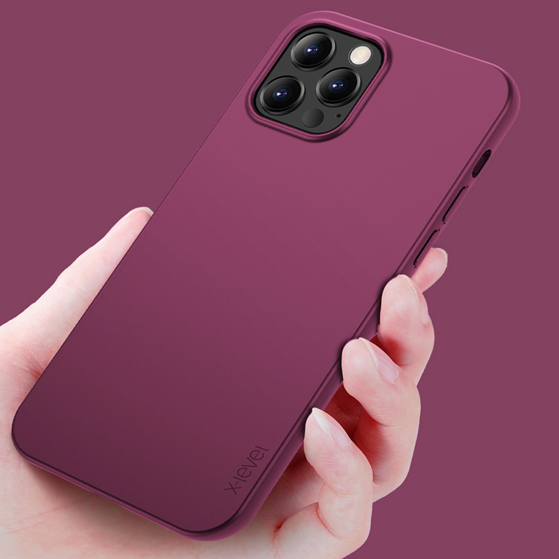 Soft TPU Ultra Thin Micro Matte Phone Back Cover Waterproof Case For iPhone 12 Pro