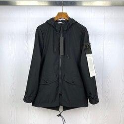 2020 beste Version 1:1 Kompass Logo Gepatcht Frauen Männer Lange Stil Jacke Windjacke Streetwear Männer Casual Jacke Mantel Outwear