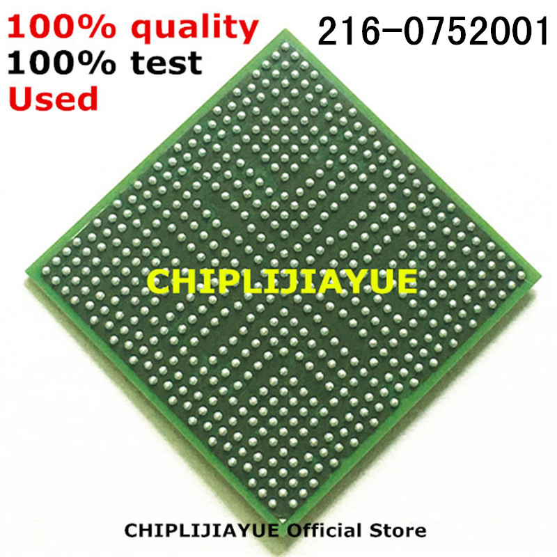 1-10PCS 100% test very good product 216-0752001 216 0752001 IC chips BGA Chipset