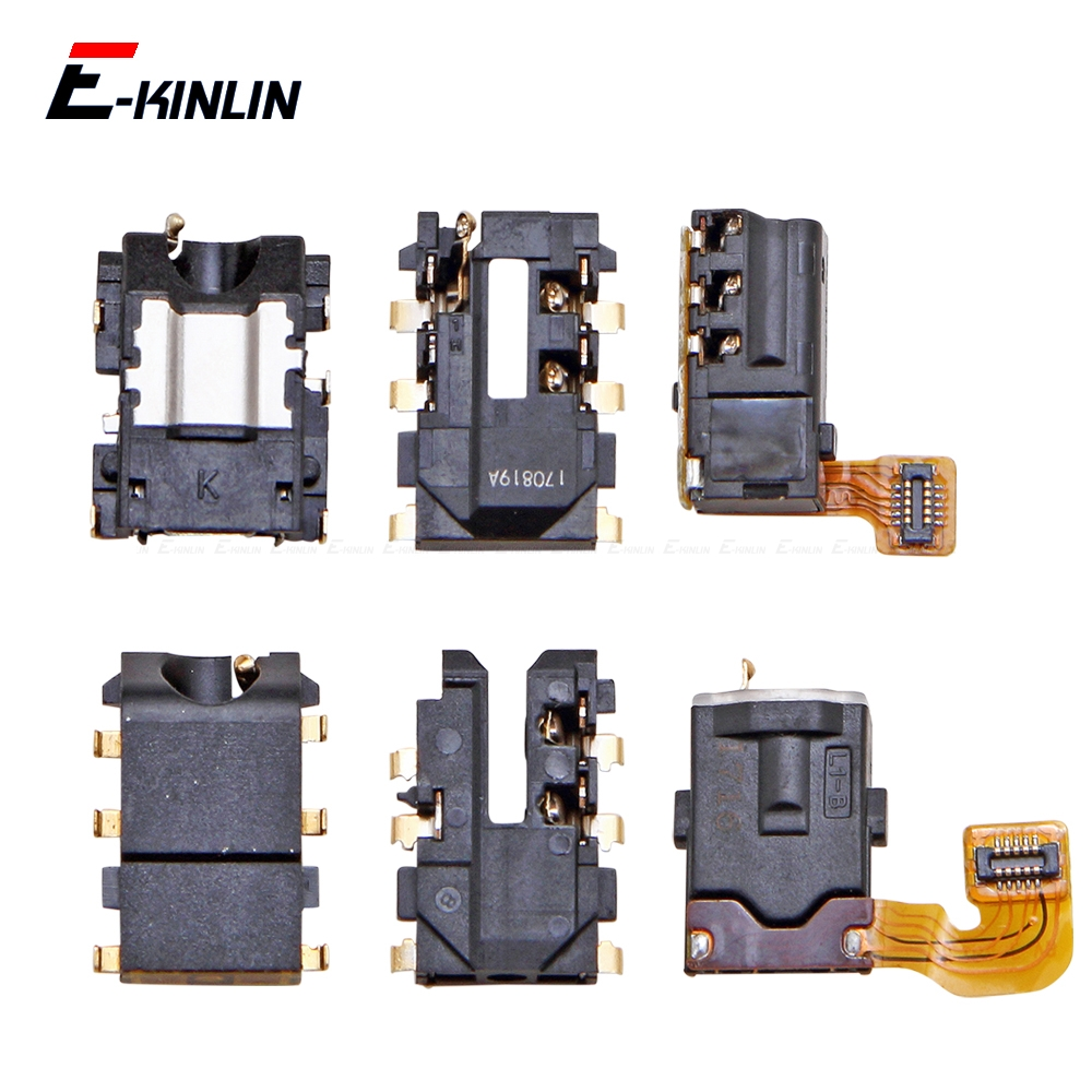 Headphone Jack Port Connector Ear Earphone Audio Flex Repair Parts For HuaWei Nova 5i 4e 3 3i 3e 2 2S 2i 2 Lite Plus Young 2017