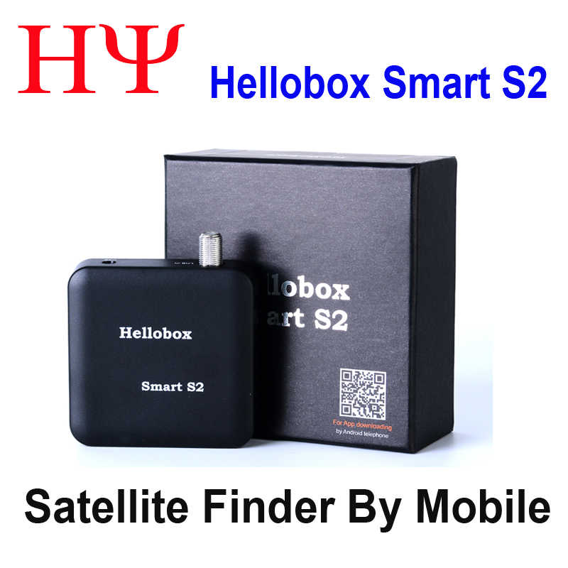[Asli] Hellobox Smart S2 Satelit Finder Receiver Lebih Baik Satlink Ws-6906, Ws693 Freesat Finder Finder BT01 V8 Finder