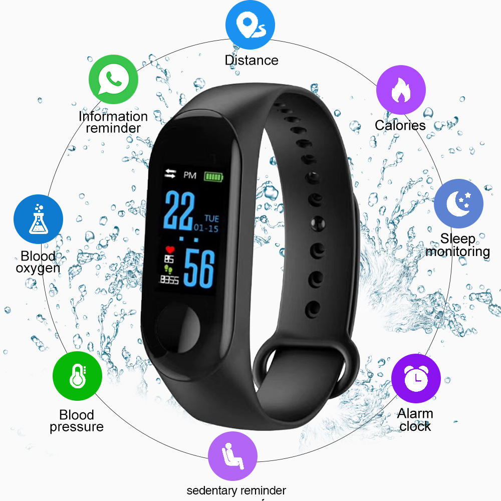 Home Tonometer Blood Pressure Monitor Smart Wrist Watch Medical Equipment OLED Apparatus For Measuring Pressure Sport Wrist