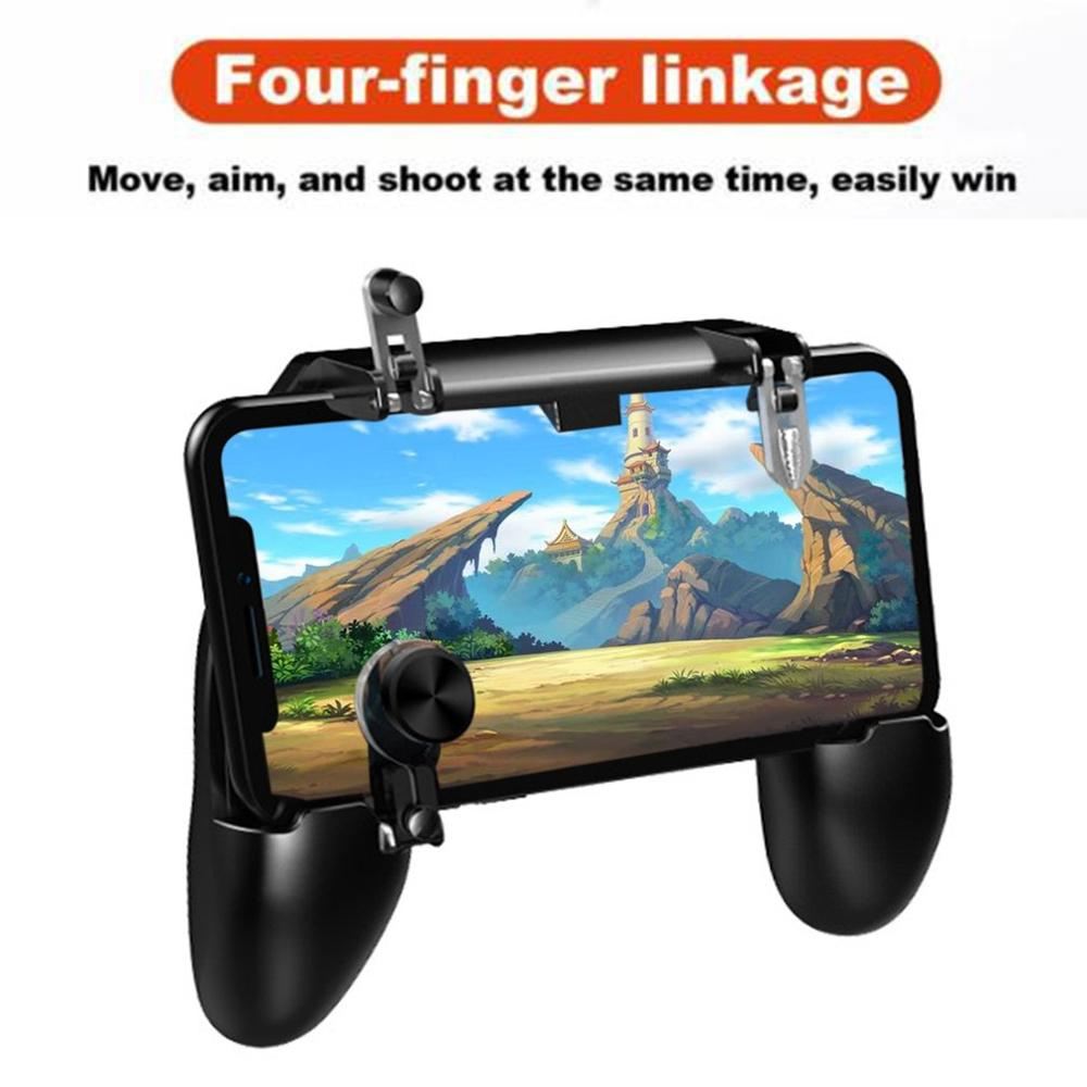 Portable Gamepad Game Pad Joystick Game Trigger Shooter Controller For Phones For PUBG For Smartphone