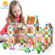 New Handmade Dollhouse Castle DIY House Toy Miniature Dollhouse Birthday Gifts Educational Toys Doll Villa Boy and Girl DIY Toy diy puzzle assembled villa provence cottage child handmade dollhouse model set combination boy girl birthday gift wj1010 ingbaby