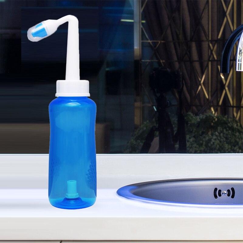 300ml & 500ml adultes enfants nettoyant Nasal nez protecteur nettoie humidifie enfant adulte éviter allergique rhinite Neti Pot