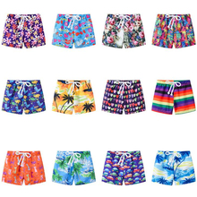 Baby Shorts Pants Girls Boys Summer Fashion Children Lace-Up Print Adjustable Colorful