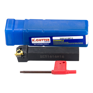 Image 5 - Ser16h16 SER2020K16 SER2525M16 torno herramientas de torneado de hilo externo, cortador de 16ER, insertos de carburo, soporte CNC