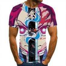 Koszulka 3D Demon Slayer prowadzić koszulki mężczyźni kobiety dzieci z krótkim rękawem fajne koszulki moda w stylu Casual, letnia chłopiec dziewczyna dzieci Streetwear