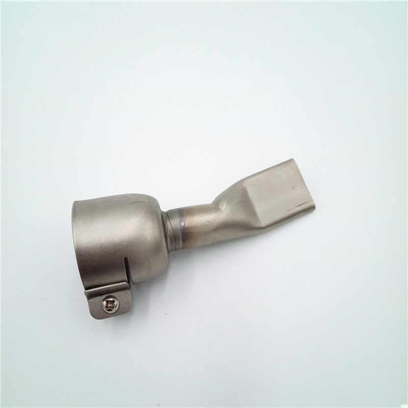 Noblik 40Mm Boquilla Tubular De Boca Ancha Y Plana Para Pistola De Soldadura De Pl/ástico//Calor De Aire Caliente//Para Boca Soldadora De Plastico