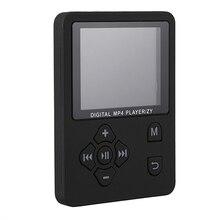 1,8 дюймовый ЖК-экран Mp3 Mp4 плеер Поддержка до 32 Гб Tf карта памяти Hi Fi fm-радио мини Usb музыкальный плеер Walkman(черный