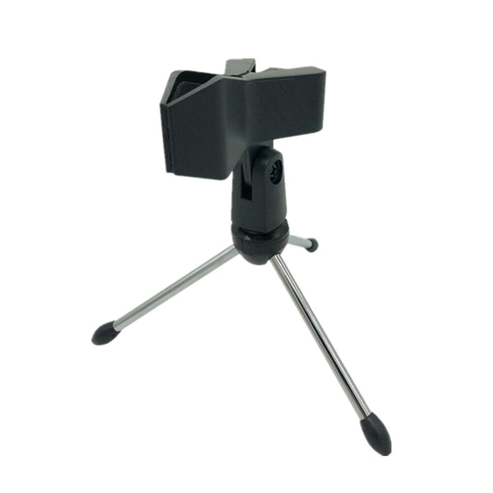 WS 858, беспроводной микрофон, профессиональный конденсаторный микрофон для караоке, bluetooth, стойка, Радио, микрофон, студия записи, WS858 - Цвет: Bracket