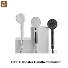 xiaomi OPPLE Booster Handheld Shower Overcharged Third Gear Water Mode One Touch Stop Button Wall Mounted Bathroom Faucet