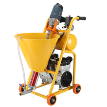 Multifunctional power tool high pressure spraying machine putty powder waterproof coating cement slurry coating spray paint new professional high power electric stirring drill r6219c paint coating cement putty powder mixer 220v 50hz 1800w 180 750r min