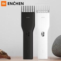 Profesjonalne trymery męskie elektryczne spinki do włosów Clipper bezprzewodowe maszynki do strzyżenia dorosłych Razor Corner Razor Hairdresse Xiaomi ENCHEN|Trymery do włosów|   -