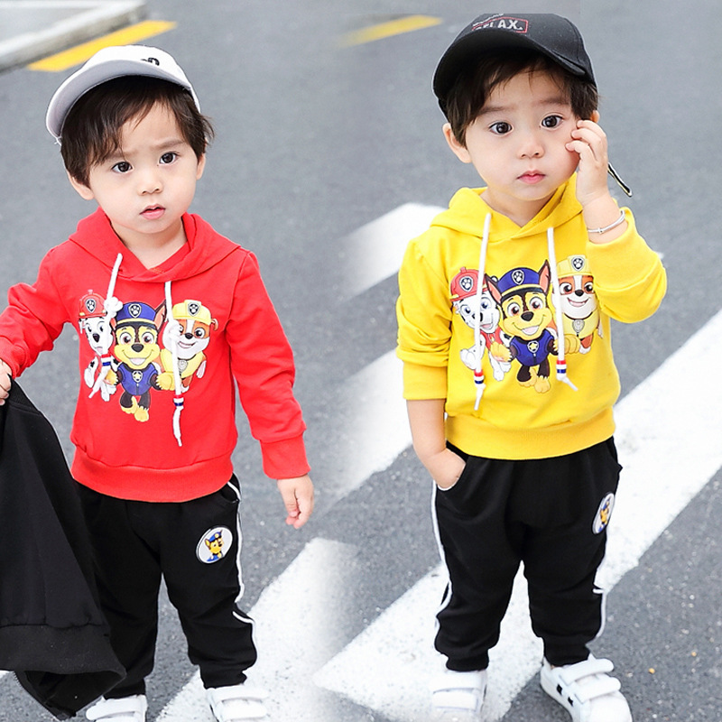 2019 Paw Patrol Hoodie Childrenswear New Style Childrenswear Korean-style Fashion Hoodie Cotton Children Spring Clothing Tops