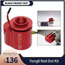 O ponto vermelho ajustou o dispositivo auxiliar que posiciona para o tubo do laser da série de yongli a/h