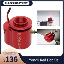 אדום דוט סט לסייע מכשיר מיצוב עבור YONGLI/H סדרת לייזר צינור