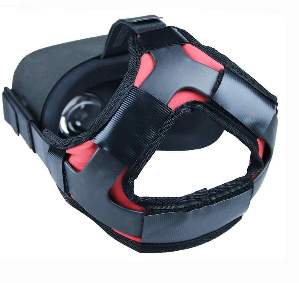 2020 son rahat PU deri kaymaz kafa bandı köpük Pad Oculus görev VR kulaklık minder kafa bandı sabitleme aksesuarları