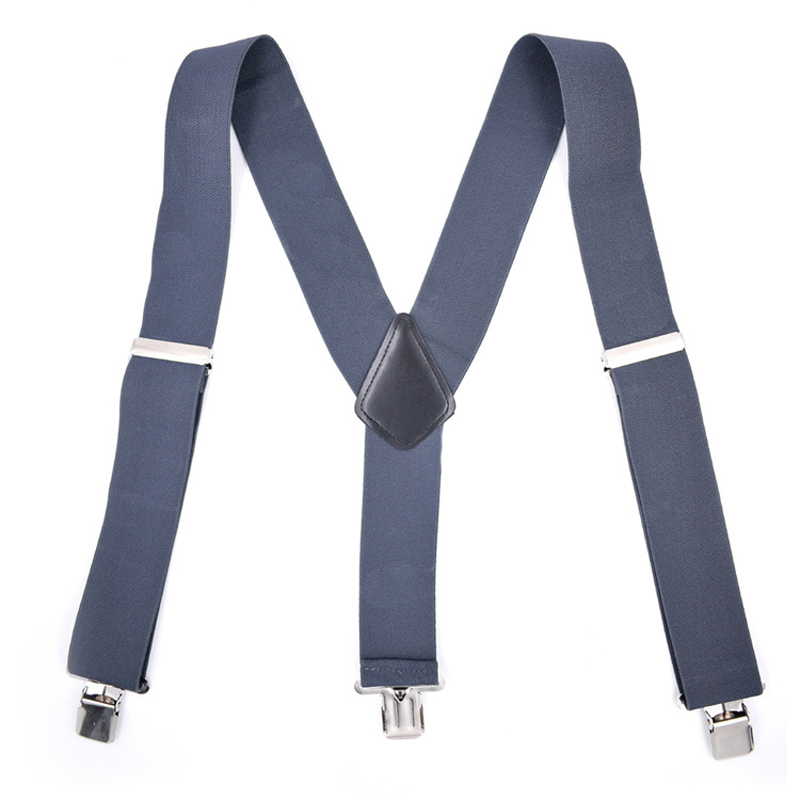 Man's Suspenders New Braces Adjustable Suspenders Strong 3clasps Male Strap