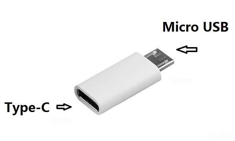 Type-C ذكر موصل إلى المصغّر USB 2.0 أنثى USB 3.1 محول بيانات محول قطرة الشحن