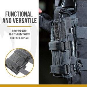 Image 5 - OneTigris Tactical Gun Holster Molle Modular Belt Minimalist Pistol Holster for Glock 17 19 22 23 31 32 34 35