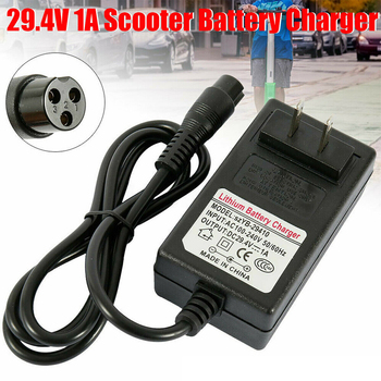 Electric Scooter Charger Adapter 29.4V 1A for Xiaomi Balanced Car Smart Balance Wheel Scooter Battery Fast Charger EU US UK Plug image