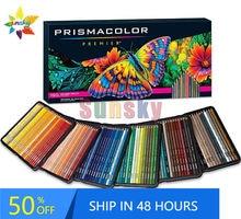 Eua original legtimo primo conjunto lpis coloridos com 72 150 núcleos material de arte escolar esboço pintura a cores lápis