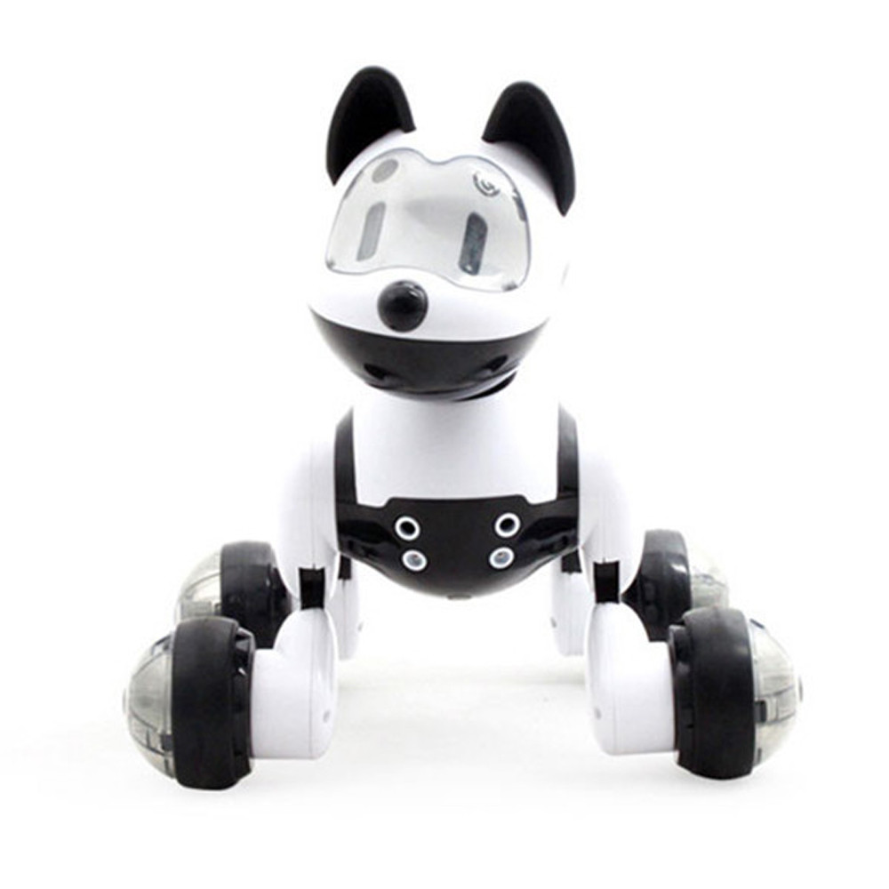 Voice Control Voice Activated Robot Dog Electronic Toy Interactive Doggy Robot Puppy Music LED Eyes Flashing Action Toy 1