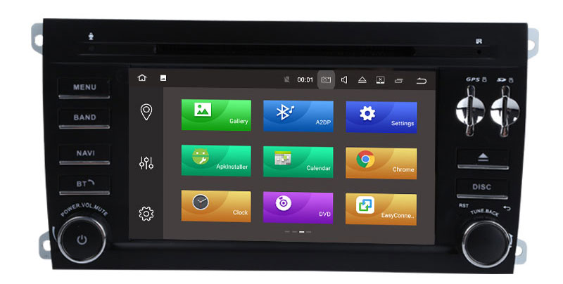 Discount Android 9.0 Octa Core  Car DVD Player Stereo System For Porsche Cayenne With Canbus Wifi GPS Navigation Radio Carplay 7