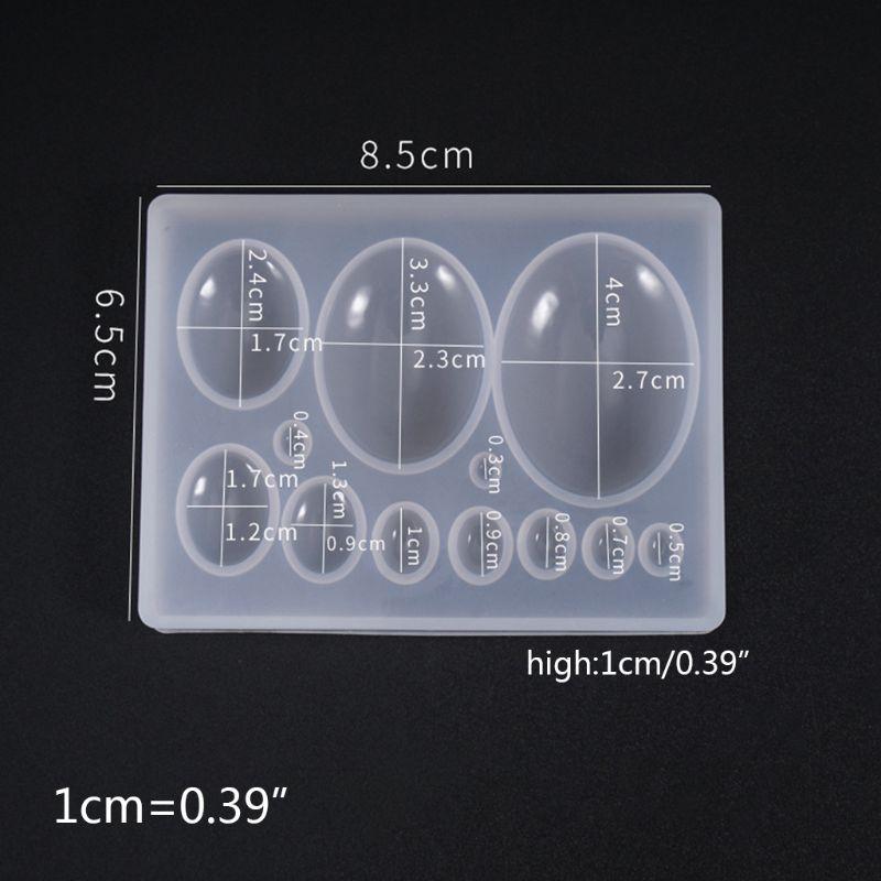 Perfume Bottle Gemstone Patch Mold DIY Crystal Epoxy Glue Crafts Decorations Pendant Making Silicone Molds N58F