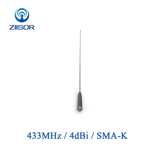 Image 1 - 433MHz U Band Walkie Talkie Antenna Omni High Gain SMA Female Data Transmission Wireless Module DTU Remote Control Z52 B433SK