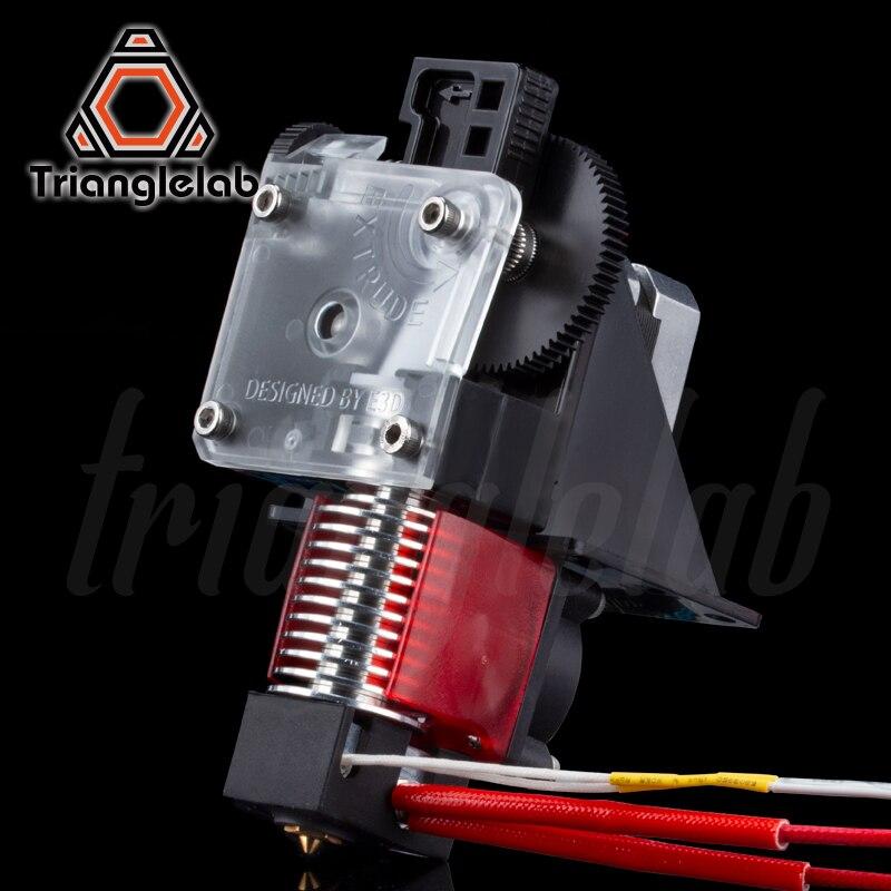 Impressora Trianglelab 3D titan bowden Extrusora de impressora reprap 3D MK8 J-cabeça frete grátis para CR10 I3 ender 3