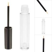 Mini Tube vide cosmétique de 4ml, flacon de Mascara, Eyeliner, bouteille de maquillage, conteneur avec bouchons de brosse