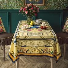 Lujoso vintage de lujo británico ins europeo jungla Mesa Redonda comedor mantel TV gabinete mesa de té Mesa bandera cubierta toalla