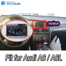 Voor Audi A6 A6L 2005 ~ 2011 Auto Android Media Player Systeem Autoradio Radio Stereo Gps Navigatie Multimedia Audio Video