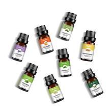 Essential Oil Set Single Essential Oil 8Pcs Set 10Ml Plant Aromatherapy Moisturizing Skin Care Essential Oil
