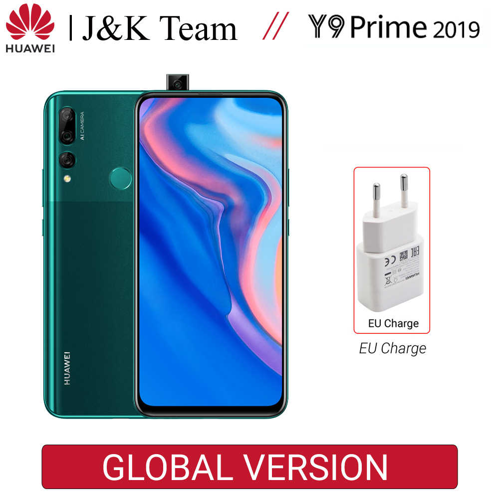 Huawei  Y9 Prime 2019 Global Version 4GB 128GB 16MP Auto Pop-up Camera Triple Camera Full View Display 4000mAh