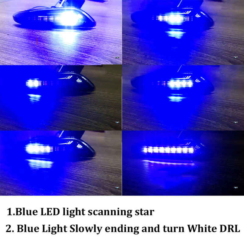 Segnale di Svolta Impermeabile Luci Lampada a Led per Bmw E46 E90 E91 E92 E60 E87 E82 E93 E61 di Ricambio Utile