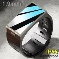 Reloj inteligente D-M12 IP68 para hombre y mujer, resistente al agua, pantalla de 1,9 pulgadas, 170x320, banda de presión arterial, ritmo cardíaco y Deporte