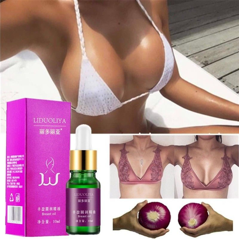 10ml Breast Enlargement Essential Oil Firming Enhancement Cream Safe Fast Bust Abundance Round Breast Nourishing Essential Oil