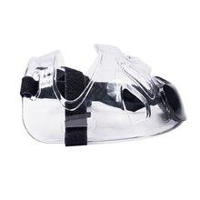 Бокс спорт съемный каратэ пинания лица щит Тхэквондо маска Защитное снаряжение прозрачный шлем регулируемые полоски