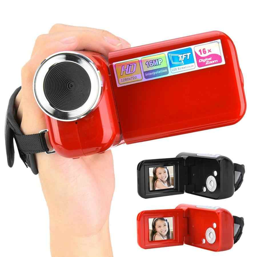 Portable 16X HD Digital Video Camera Camcorder with 2inch TFT LCD Sceen Support Photograph and Video Toy for Children Kids Gifts